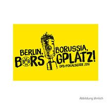 Neuheit! Hissfahne Borussia Dortmund  DFB-Pokalsieger 2017 in Berlin Borsigplatz