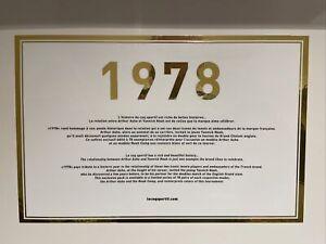 Le Coq Sportif Arthur Ashe X Yannick Noah 1978 Pack. UK8/US9. 88 Total Worldwide