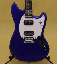 031-1220-587 Squier Bullet Mustang® Guitar HH Rosewood Fingerboard Imperial Blue