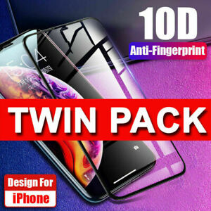 Tempered Glass SCREEN PROTECTOR iPhone 12 11 PRO MAX Mini X, XR, 13, FULL COVER