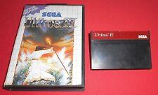 Master System 1 & 2 Ultima IV [PAL] Sega JRF