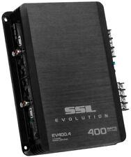 New!! Soundstorm EV400.4 400 Watt 4 Channel Car Power Amplifier Amp MOSFET SSL