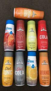 SodaStream Lemon & Lime,Cola,Orange & Mango,Lemonade Assorted Flavours Syrup New