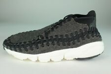 NIKE AIR FOOTSCAPE WOVEN CHUKKA SPECIAL EDITION MEN SIZE 8.0 TO 13.0 NEW BLACK