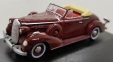 HO Scale (1:87) Oxford Buick Special Convertible Coupe 1936 Cardinal Maroon NIB