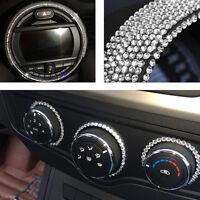 3mm Crystal Rhinestone Car Styling Sticker Decor Decal Accessories Decoration