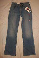 Levis 517 Bold Curve Boot Cut Tea Time Faded Stretch Denim Jeans Women's 4 M NWT