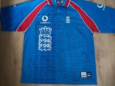 ENGLAND CRICKET SHIRT SIGNED BY MANY LEGENDS- AWESOME-UNIQUE-RARE!!!