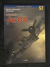 Kagero Book: Junkers Ju 88 vol. I - 124 black and white photos, 120 graphics