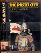 M. John Harrison THE PASTEL CITY Fantasy hcdj 1972 1st US ed XLib Vintage-FAIR