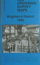 Old Ordnance Survey Maps Brighton & District 1894 Special Offer Discount New