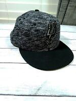 San Antonio Spurs NBA New Era 9FIFTY Snapback Adjustable Hat - Black/Gray