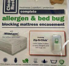 Clean Rest Complete Allergen and Bed Bug Blocking Twin Mattress Encasement