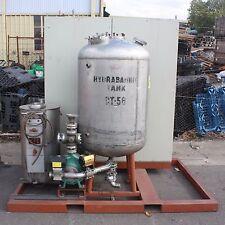 600L stainless steel pressurised batch reactor bio diesel plant