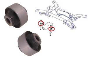 Rear Differential Diff Bushes Bushings Mounting Mount for Mitsubishi Outlander