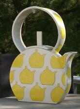 Sara Wein Yellow Teapot Mid Century Modern