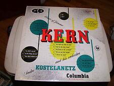 ANDRE KOSTELANETZ & ORCHESTRA-MUSIC OF JEROME KERN-LP-VG+-COLUMBIA MASTERWORKS