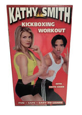 NEW SEALED Kathy Smith Kickboxing Workout VHS Exercise w/ Keith Cooke