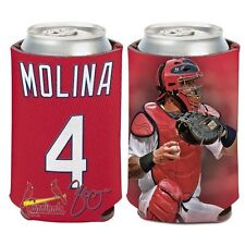 Yadier Molina ~ (1) Beer Can Coolie Koozie Holder Huggie ~ St. Louis Cardinals