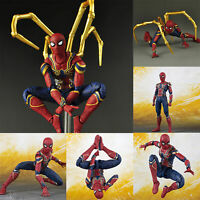 Iron Spider Man Action Figure Marvel Spiderman Avengers Infinity War Toy Gift US