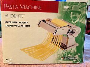 VillaWare Pasta Machine Maker Al Dente Model 177 New In Box