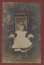 Young girl chair studio.  qp774