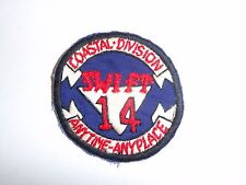 b7284 US Navy Vietnam Coastal Division 14 Swift Boat PBR Brown Water hnd IR27D