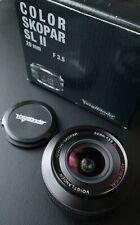 Voigtlander COLOR-SKOPAR 20mm f/3.5 SL II Aspherical lens for Canon EF Mount