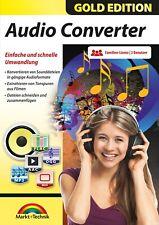 Audio Converter - Musik konvertieren in mehr als 100 Formate - 3er Lizenz- PCDVD