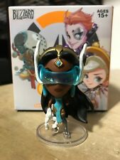 CUTE BUT DEADLY SYMMETRA OVERWATCH BLIZZARD SERIES 5 BLIZZCON EXCLUSIVE IN HAND