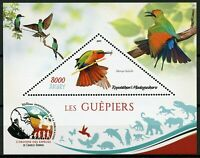 Madagascar 2019 MNH Bee-Eaters Red-Throated Bee-Eater 1v S/S II Birds on Stamps
