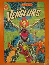Album N° 5. Les Vengeurs. Crisis. 2 numéros. éditions  Aredit