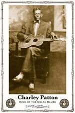 John Tefteller's Blues Images Poster Charley Patton King Of The Delta Blues