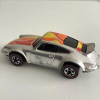 Hot Wheels Redline Super Chrome Orange Red Yellow Tampo P-911 HK 1974 Near Mint