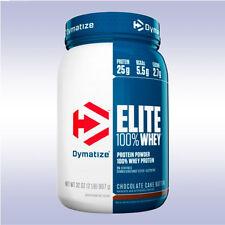 DYMATIZE NUTRITION ELITE WHEY PROTEIN (2 LB) 25 g powder iso bcaa carnitine 100
