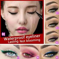 12 Color Waterproof Eye Liner Pen Beauty Makeup Cosmetic Liquid Eyeliner Pencil