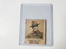 Corporal Ben Cone Detroit Michigan 1919 World War 1 WW1 Hero