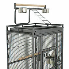 Cage Bird Parrot Medium Cockatiel Finch Pet Parakeet Stand Top Supply House Wire