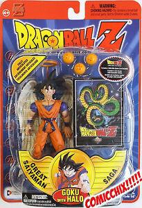 Dragonball Z - GOKU WITH HALO Action Figure - IRWIN TOYS SERIES 8