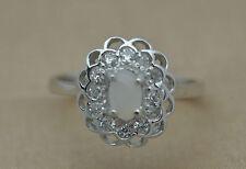 Markenlose Echte Edelstein-Ringe mit Opal und Cabochon