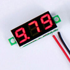 0.28'' Red LED Digital LCD Display Voltmeter DC2.4V~30V Voltage Detector Panel