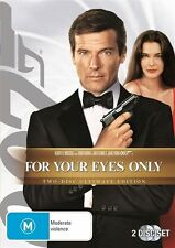 FOR YOUR EYES ONLY *EXCELLENT CONDITION*  TWO DISC ULTIMATE EDITION