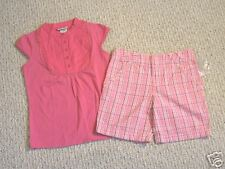 NWT CHEROKEE SHORTS & TOP SET GIRLS XS (4/5)