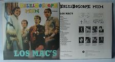 LOS MAC'S - KALEIDOSCOPE MEN - SUPERB RE-ISSUE LP - (still sealed) - ANIMA 1001