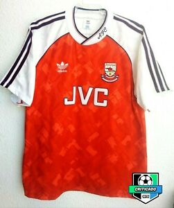 1990/1991/1992 Arsenal Adidas Home Football Shirt ( Size 42 -44)