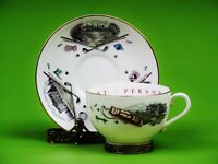 Vintage Royal Worcester Golf Motif Cup and Saucer To A Very Important Person.