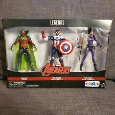 Marvel Legends: Avengers - Vision, Captain America, Hawkeye - 3 pack