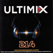 Ultimix 214 CD Ultimix Records Mark Ronson Taylor Swift Madonna HOOYEAH! Tove Lo