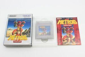 Metroid II 2 Return of Samus with Box Manual Nintendo Gameboy GB Japan Tested 77