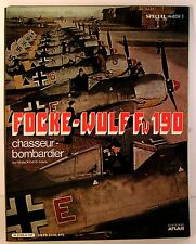 "livre aviation spécial mach 1 "" focke-wolf fw 190 "" ed atlas 1980"
